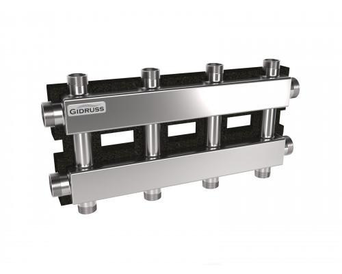 MKSS-100-4DU.EPP (до 100 кВт, 2 магистрали G 1¼″, 2+2 контура G 1″, EPP-термоизоляция)