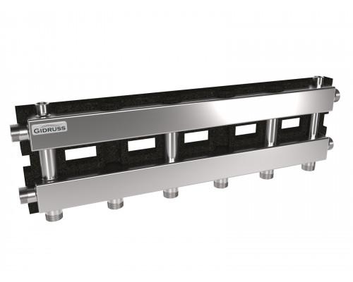 MKSS-60-4D.EPP (до 60 кВт, магистраль G 1″, 3+1 контура G 1″, EPP-термоизоляция, кронштейны K.UF)
